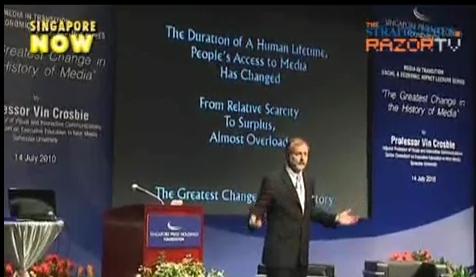 Singapore Media Lecture