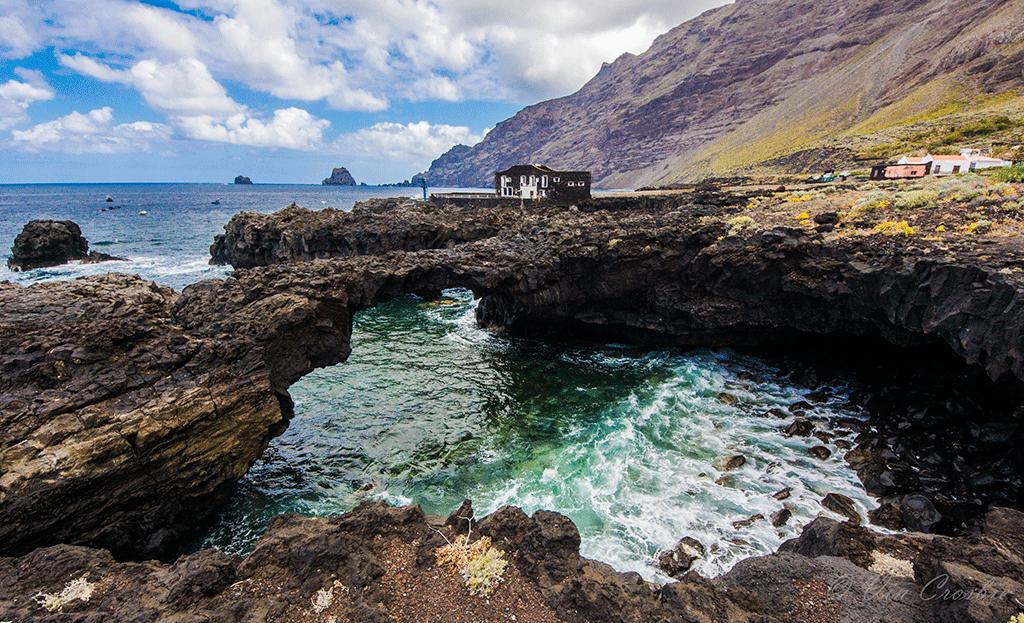 Arco de las Puntas, Isla El Hierro, Canary Islands.