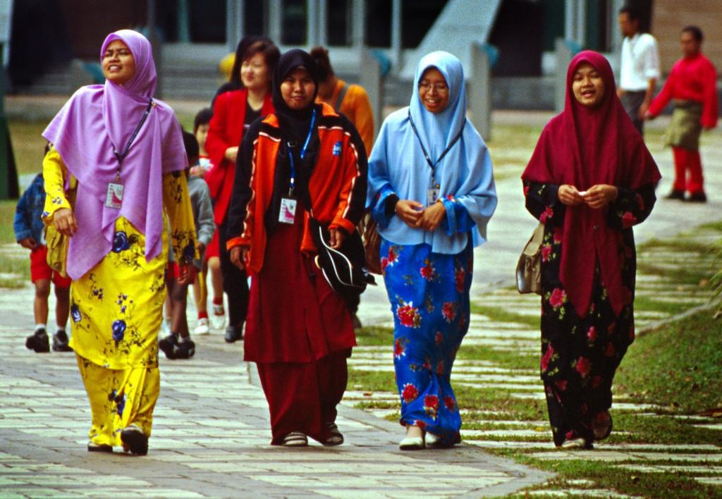 Islamic Women After Prayer, Kuala Lumpur
